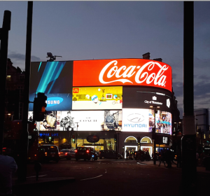 Piccadilly Circus... I just had to take a pic, it was beautiful.